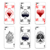 Image of Creative Poker Card Pattern Phone Case Cover for Samsung Galaxy Note 4 5 S4 S5 S6 S7 Edge Plus - casinomegastore