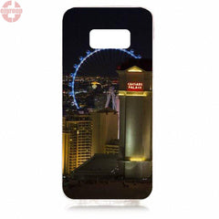 Casinos In Las Vegas And Atlantic City Silicon Case For Samsung Galaxy Mobile Cell