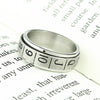 Image of Free Shipping Stainless Steel Double Layer Poker BlackJack Ring Jewelry - casinomegastore