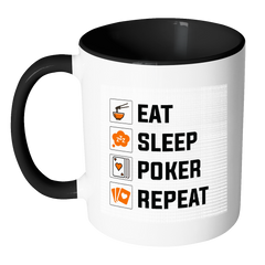 GREAT Quality! Accent Poker Mug, Perfect Gift for Your Poker Friends!
