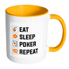 Image of GREAT Quality! Accent Poker Mug, Perfect Gift for Your Poker Friends! - casinomegastore