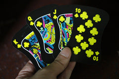 HOT Poker Playing Card Fluro Glow in Dark for Party Poker  Baccarat or Blackjack Game