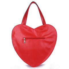 RED HOT! Heart Shaped Women's HandBag Large Casino Love