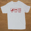 Image of NEW Eat Sleep Poker T Shirts Men Short Sleeve Cotton T-shirt - casinomegastore