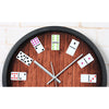 Image of Unique Item! Hanging Wall Casino Domino Clock - casinomegastore