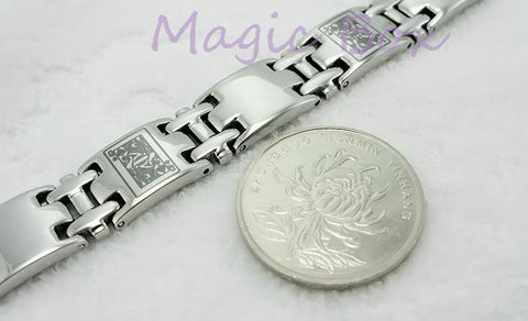 ESSENTIAL! Stainless Steel Poker Bracelet  Unisex Jewelry - casinomegastore