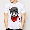 Image of BEST SELLING! Printed Heart Ace Animal Casino Gaming T-Shirt - casinomegastore