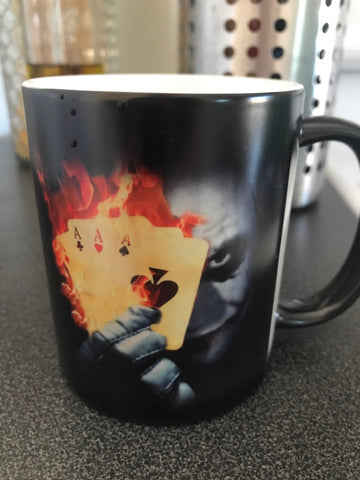 The Sensational Color Changing  Joker Mug Will Bring a Smile to Your Face! - casinomegastore