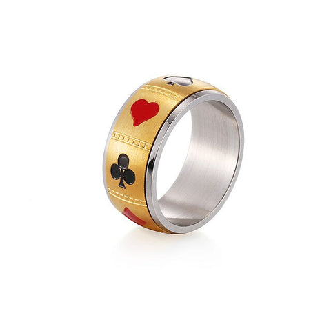 Spinner Playing Card Ring