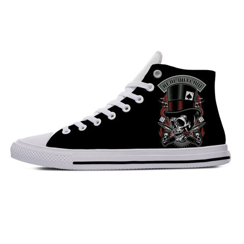 Poker Canvas Shoes