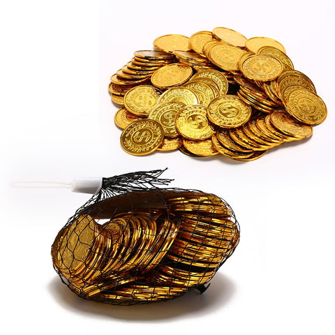 Gold Plated Poker Bitcoin Chips