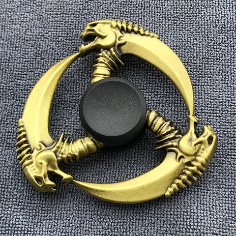Bronze Poker Finger Spinner