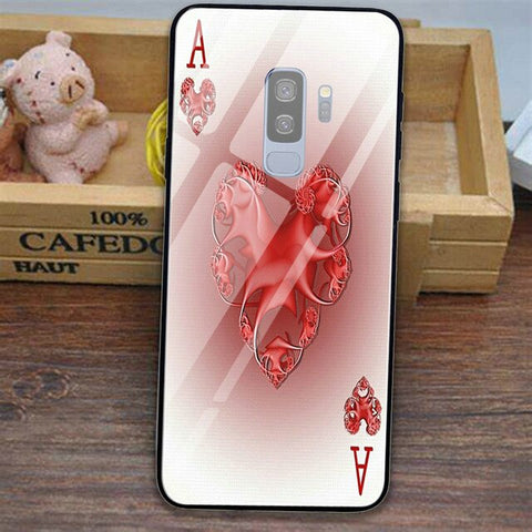 Poker Games Tempered Glass Mobile Phone Cases for Samsung Galaxy Note