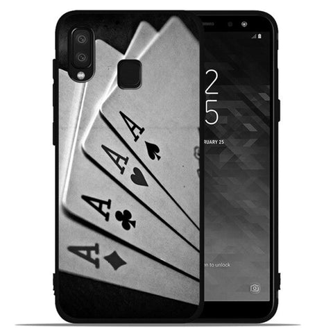 Ace Family Poker phone Case For Samsung