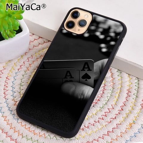 MaiYaCa CASINO LAS VEGAS POKER Phone Case Cover For iPhone 5s SE 6 6s 7 8 plus X XR XS 11 pro max Samsung Galaxy S8 S9 S10 shell