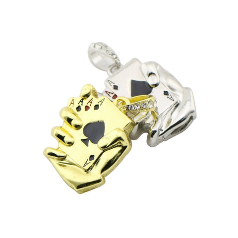 Pen Drive Metal Poker Ace USB Flash Drive - casinomegastore