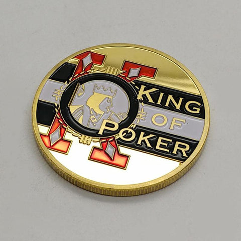 The King Of Poker Copy Coin Home Decor - casinomegastore