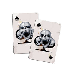 Accessories Poker Skull Head Decal Car Sticker