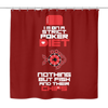 Image of The POKER LIFESTYLE! High Quality, Poker Themed Bathroom Shower Curtain - casinomegastore
