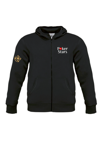 HOT SALE! Pokerstars PS Zipper Hoodie * EPT * Championship * BEST QUALITY! - casinomegastore