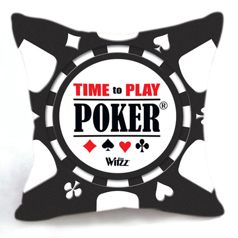 Brilliance! Humorous design cotton cushion covers various styles poker player gift - casinomegastore