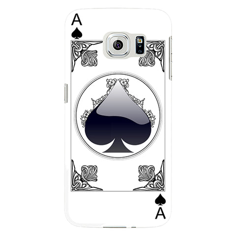 Creative Poker Card Pattern Phone Case Cover for Samsung Galaxy Note 4 5 S4 S5 S6 S7 Edge Plus - casinomegastore