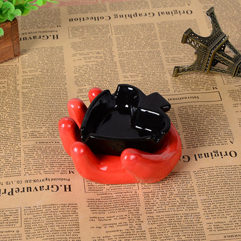 Must HAVE! Creative Poker Ashtray Household Hotel Restaurant Accessory - casinomegastore