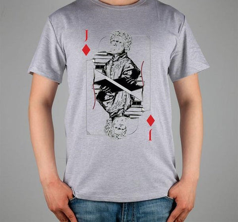 GAME OF Poker THRONES Line Tyrion Lannister Cotton Lycra High Quality T-Shirt - casinomegastore