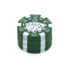 Image of 3 Layers Poker Chip Style Herb, Herbal, Grinder Gadget BRILLIANT! - casinomegastore