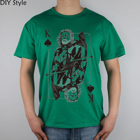 Game of Poker Thrones Fashion Series Men T Shirt High Quality - casinomegastore