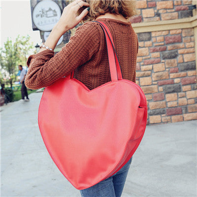 RED HOT! Heart Shaped Women's HandBag Large Casino Love - casinomegastore