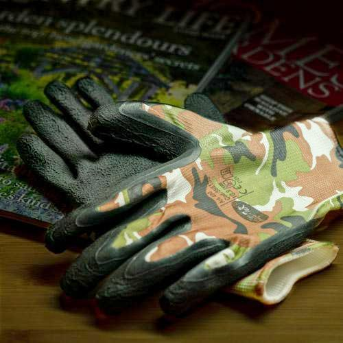 Gloves DIY Garden Puncture Proof 2 Size Men Women Army Flower Chelsea Show 2019