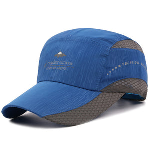 Cap Men Summer Outdoor Sports 2018 Quick-drying Thin Light Breathable Adjustable