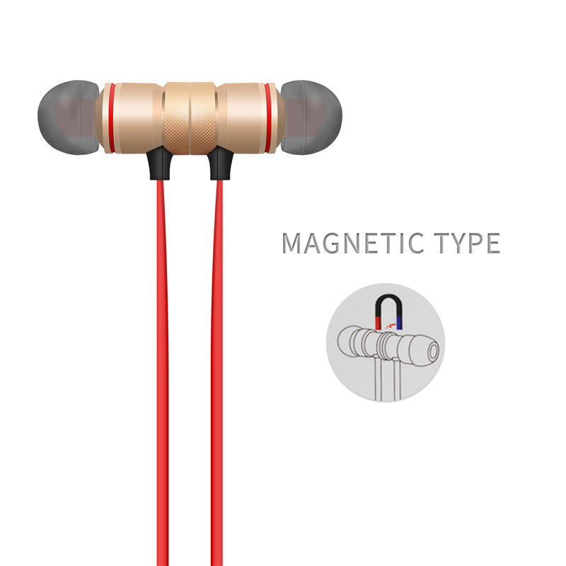 Earbuds Wireless Bluetooth 4.1 Outdoor Sport Magnetic Earphones