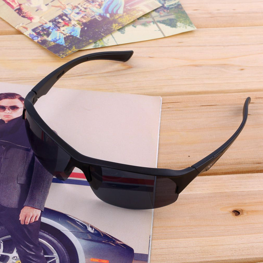 Driving Sun Glasses Anti UV400 Black Sunglasses Men Unisex Eyewear