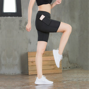 Shorts Joggers Fitness Gyms Women Technical Activewear Runners Workout Elastic