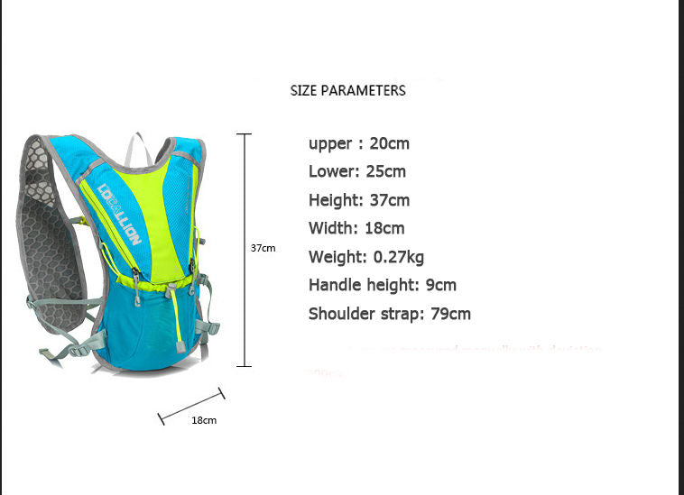 2018 Backpack Mini 5L Runner Ultralight Bicycle Riding Backpacks Race 10 colours