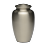 Classic Brass Cremation Urn in Pewter Finish