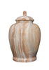 Oceanic Marble Urns are handmade by skilled artisans creating true works of art. Each urn is supplied with a cremation bag, glue for sealing. Height: 10.5″ Diameter: 8.5″ Capacity: 220 Cu. In.