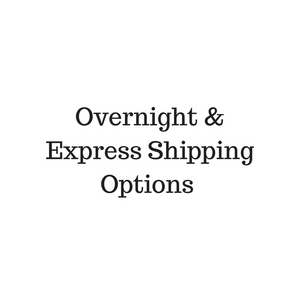Overnight & Express Shipping Options