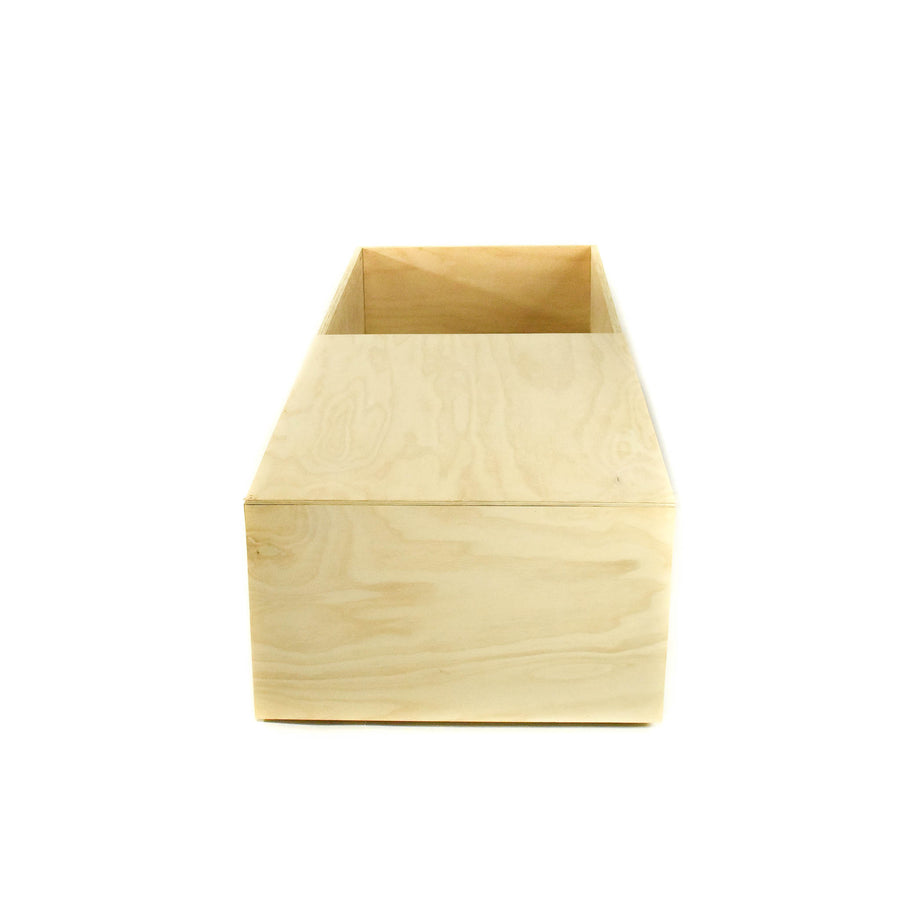 Pine Box Casket with one lid