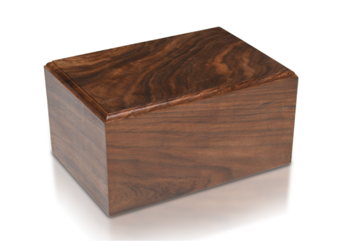 "Made from solid rosewood and securely closes with plug cap in the base. Beautifully made. New product Adult SizeOuter Dimensions 9.5"" L * 6.5"" W * 5"" H, Capacity: 200 Cubic Inches XXL size:Outer Dimensions: 9.5″ L x 7.5″ W x 5.25″ HCapacity: 250 Cubic Inches Please contact us, if you have any questions."
