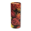 "Mini scatter tubes, Rose design. Size: 5.25"" * 2.95"" Capacity: 20 cubic inches, made from renewable resources and biodegradable."