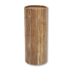 "Large scatter tube for ashes with Timber design. Large size 12.6"" * 5.1"", 200 cubic inch capacity."