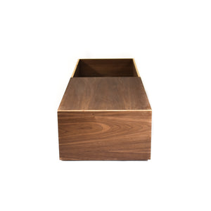 Walnut Wood Casket with one lid