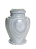 Natural marble urns in galaxy edition created by skilled artisans. The dimensions follow: 10.5″ H and 8.5″ Dia. Capacity: 220 Cubic Inches.