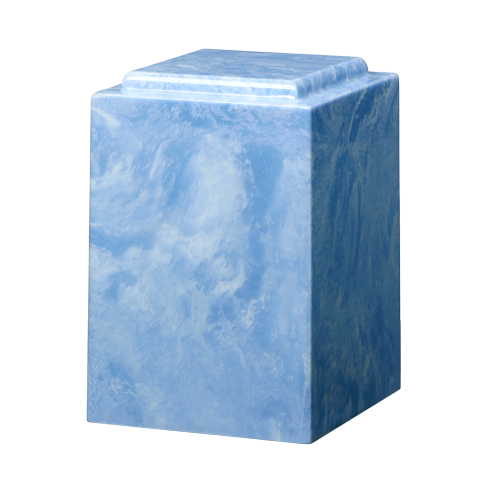 Tall Marble Cremation Urn