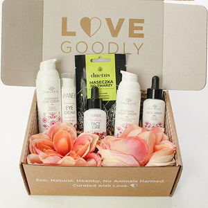 Rosadia, Vianek and Duetus in Love Goodly vegan beauty box