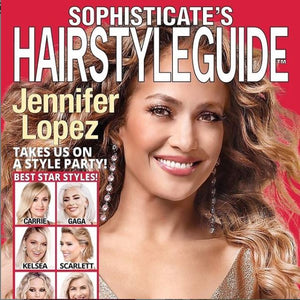 Jennifer Lopez on the cover of Sophisticate's Hairstyle Guide Magazine