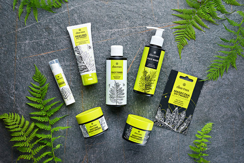 DUETUS Skincare set for combination and acne skin